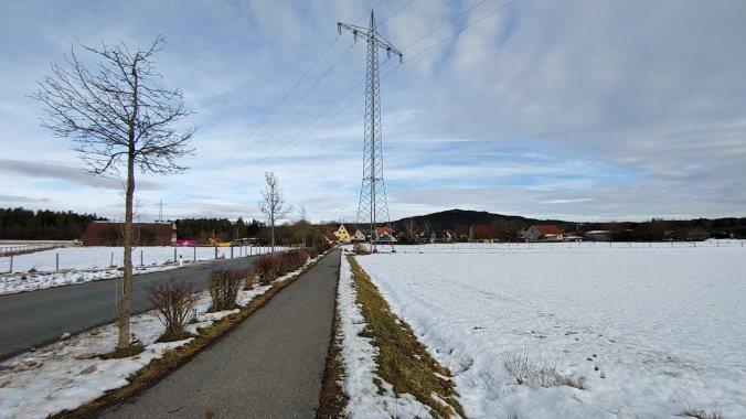 Der Schnee wird weniger und die Straßenlaufverhältnisse besser