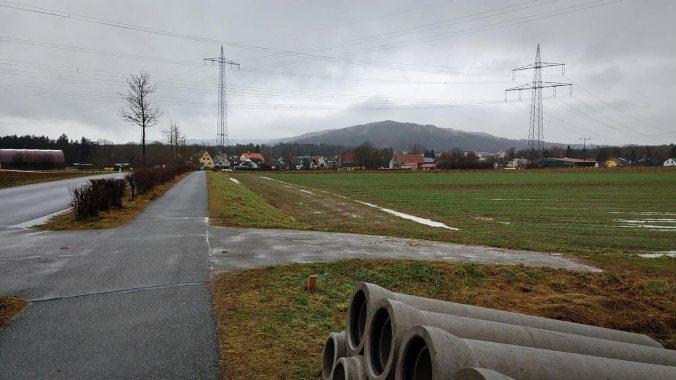 Ein weiterer Lauf im Regen