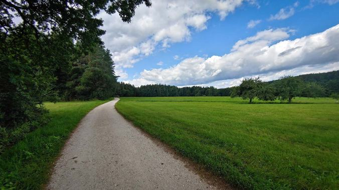 Angenehmes Laufwetter