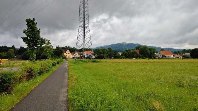 Heute war es wieder einmal regnerisch