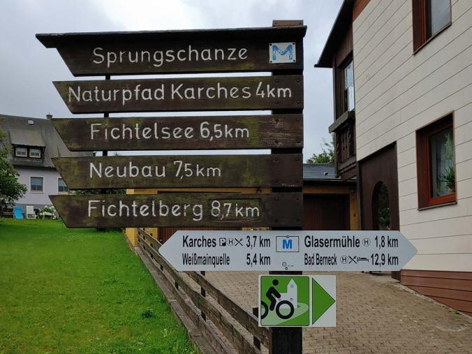 Das Wandernetzwerk rund im Bischofsgrün ist wahrlich famos