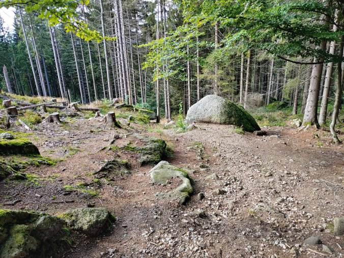 Der steinige Abstieg