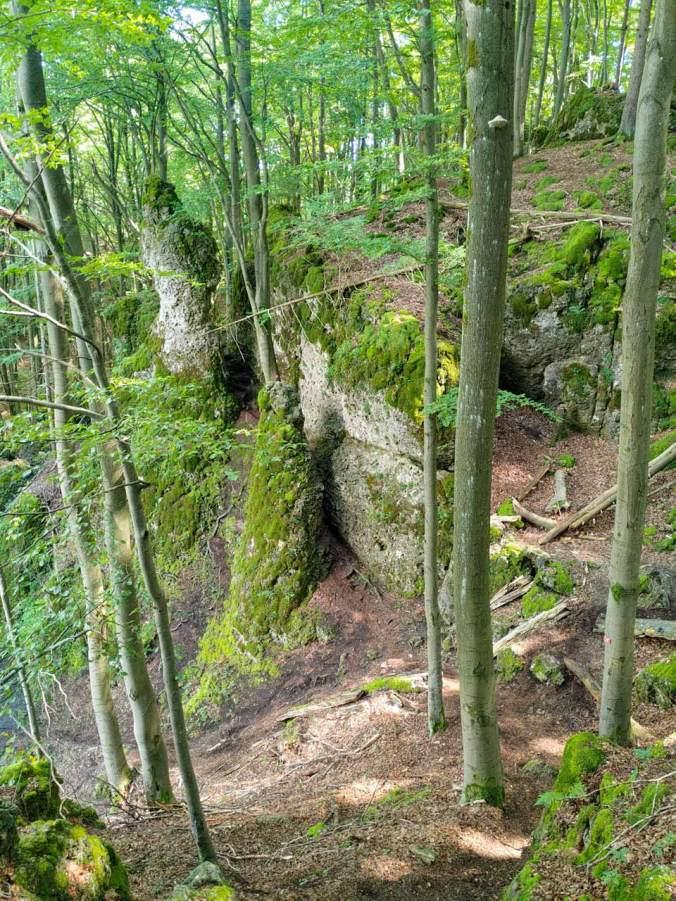 Überall fantastische Felsformationen