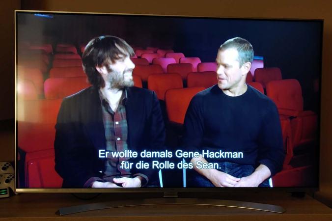 Ben Affleck und Matt Damon erzählen Anekdoten   © STUDIOCANAL