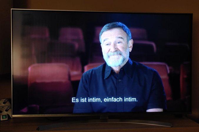 Bei Robin Williams kamen mir fast die Tränen   © STUDIOCANAL